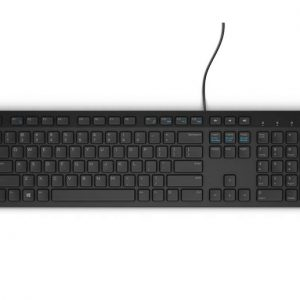 Dell KB216 Wired Multimedia Keyboard Black