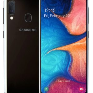 Samsung Smartphone SM-A202 GALAXY A20e Black