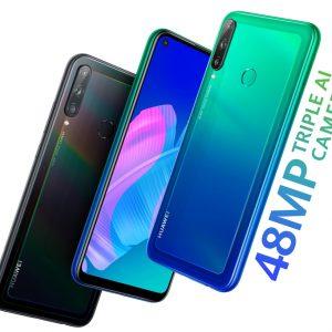 Huawei P40 lite Е Aurora Blue